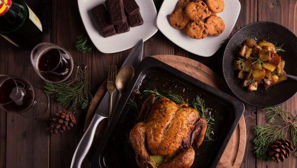 thanksgiving dinner image
