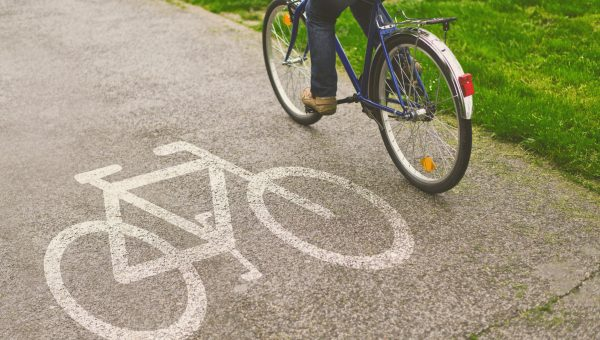 biking pathway image