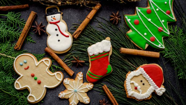 image of holiday cookies
