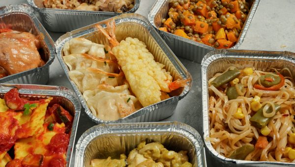 image of takeout tins
