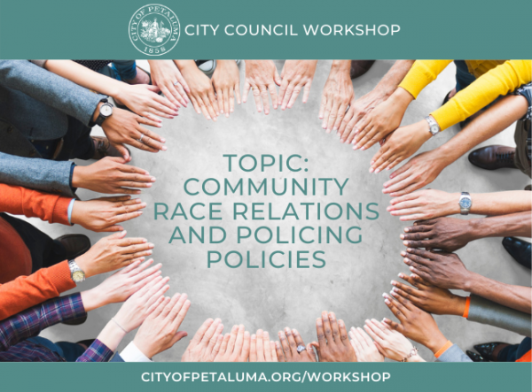 Race Relations & Police Activity meeting