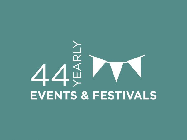 44 YEARLY EVENTS & FESTIVALS INFOGRAPHIC