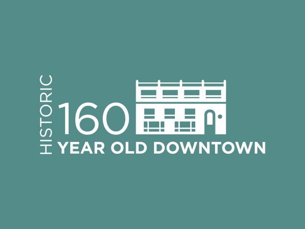 160 YEAR OLD DOWNTOWN INFOGRAPHIC
