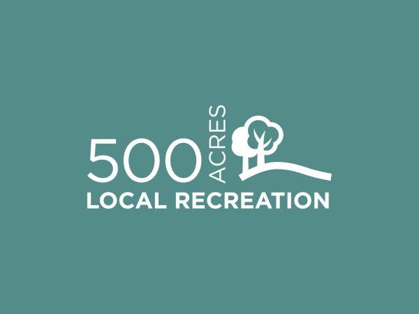500 ACRES LOCAL RECREATION INFOGRAPHIC