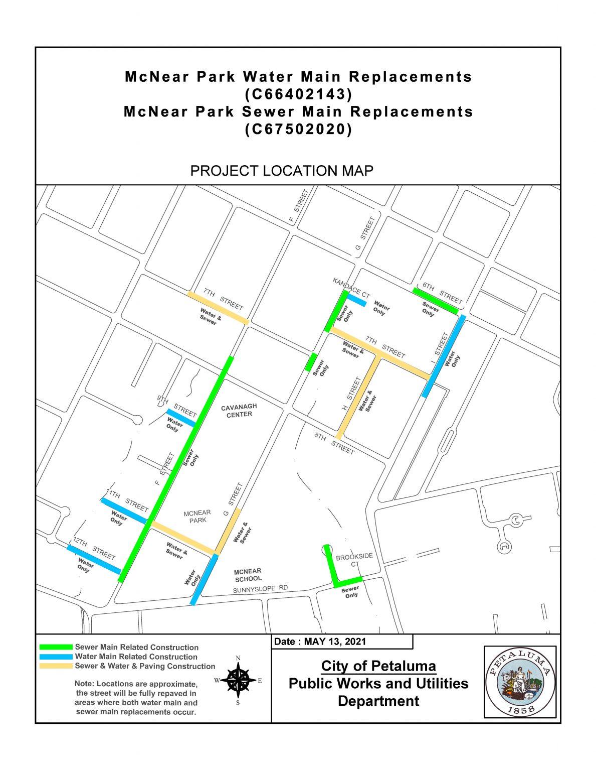 McNear Map