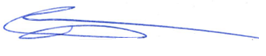 Council Member Fischer signature