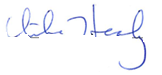 Council Member Healy signature