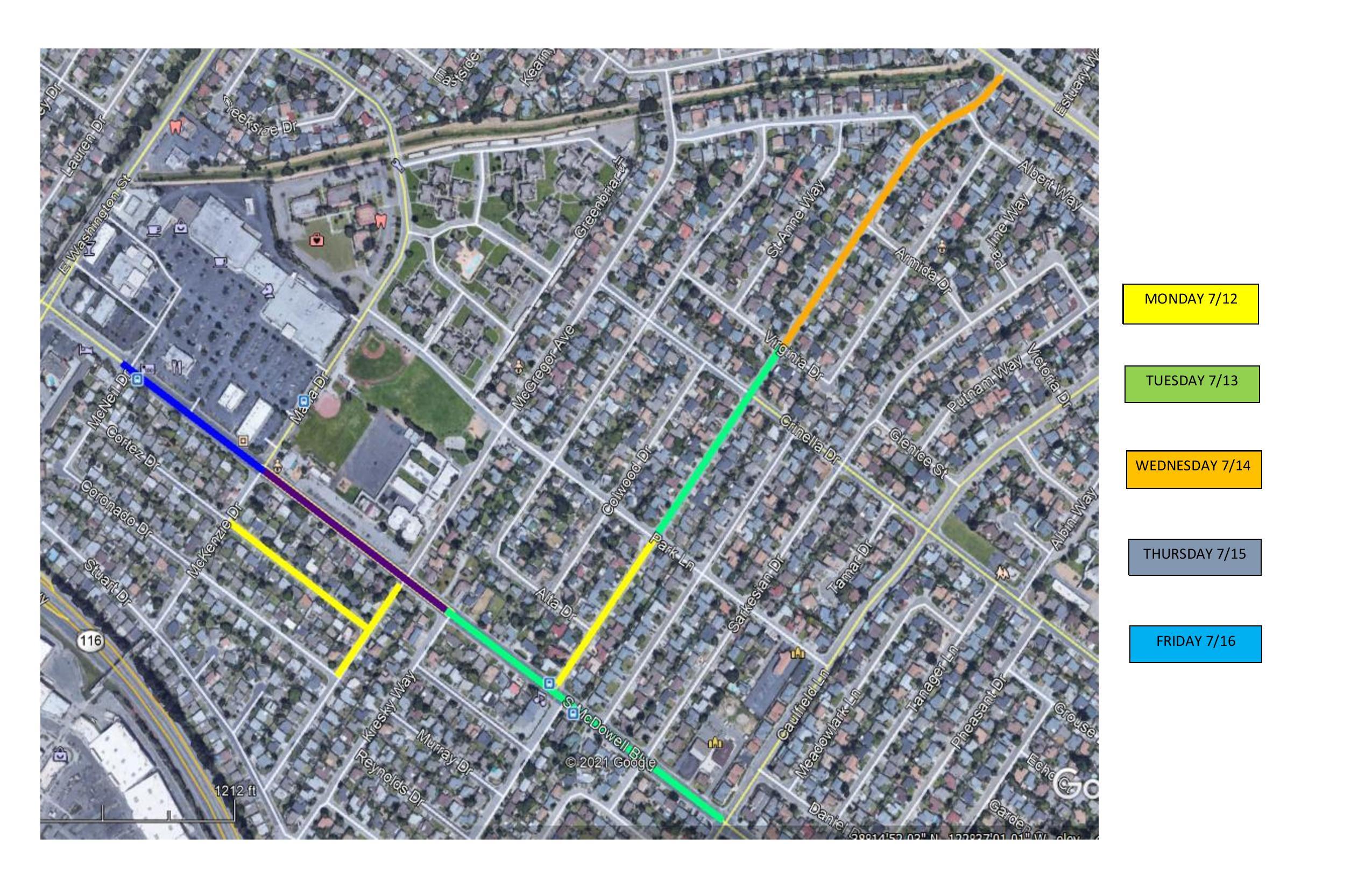 Pavement Map 2 7_12 thru 7_16