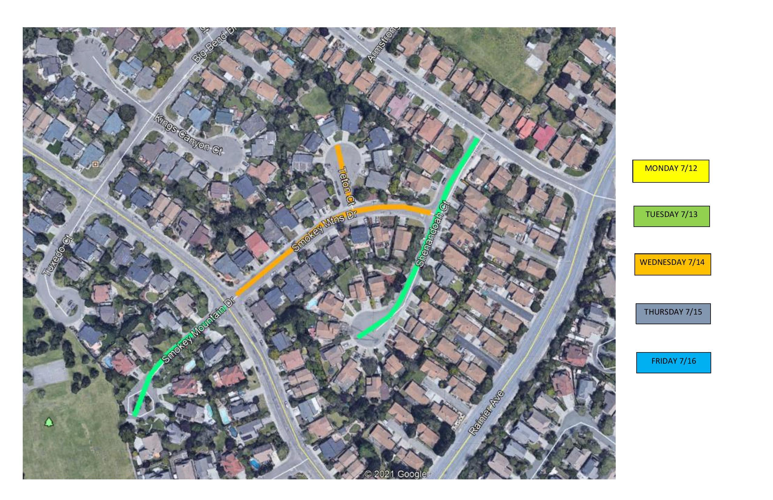Pavement Map 3 7_12 thru 7_16