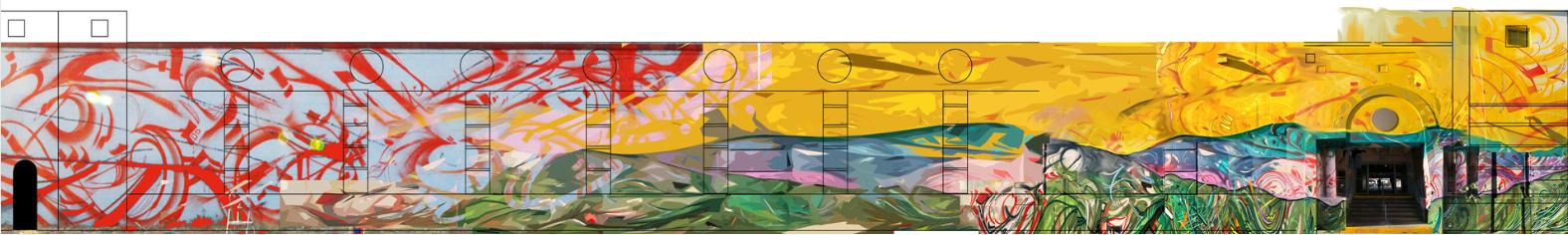 KSPG mural concept