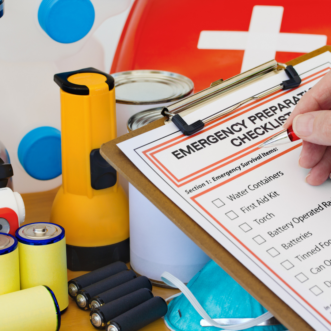 Emergency Checklist Image SPADEA