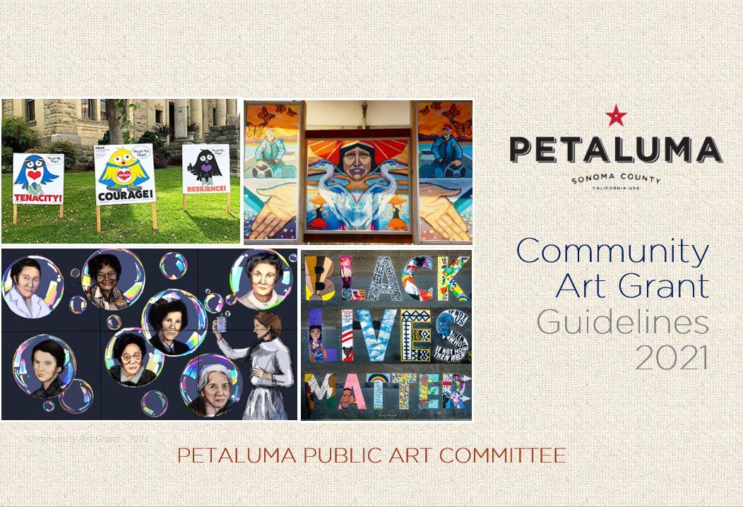 Community Art Grant Guidelines Cover