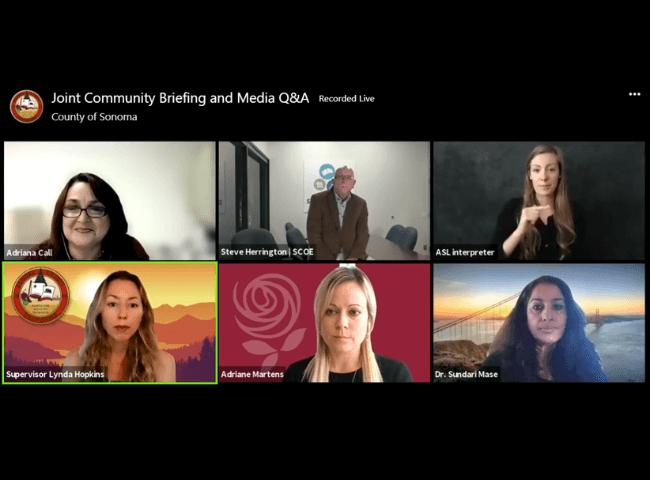 Weekly COVID-19 Community Briefings 9_1