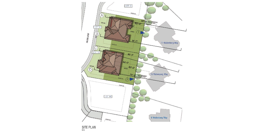 Site Plan Lot 14 and 15