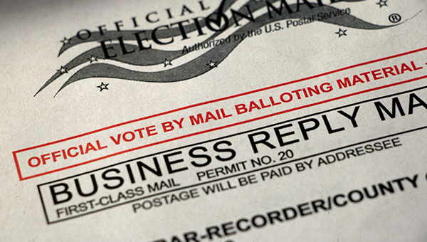 mail-in ballot image