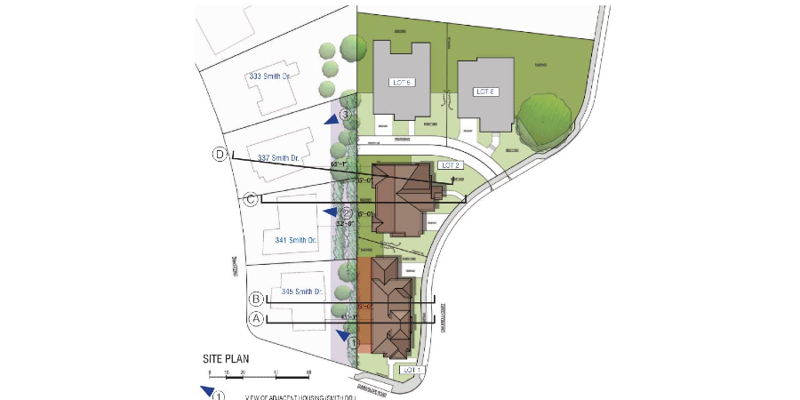 Site Plan Lot 1 and 2