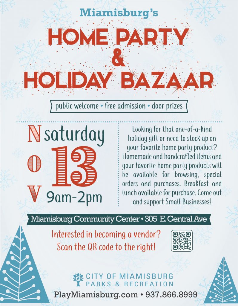 home party flyer
