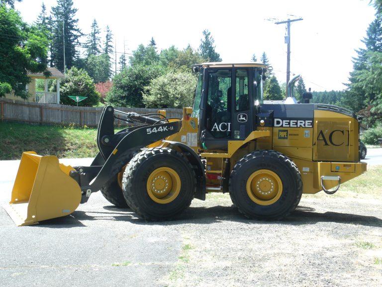 groundbreaking tractor