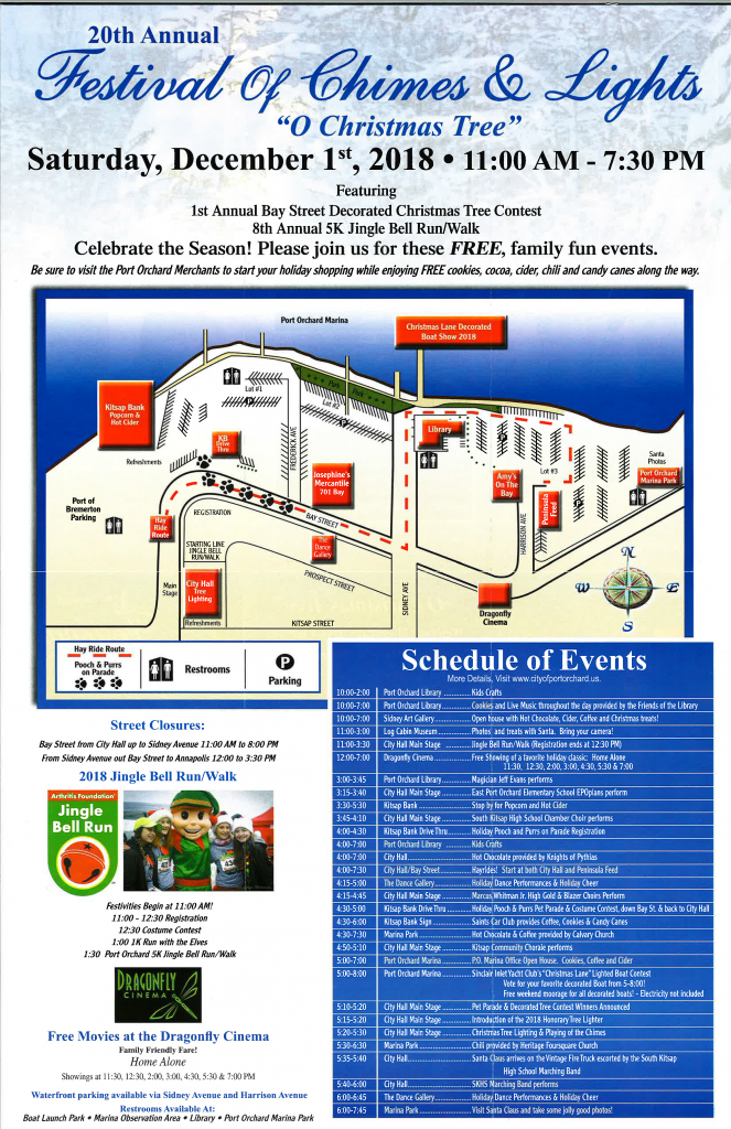 Festival of Chimes and Lights Brochure
