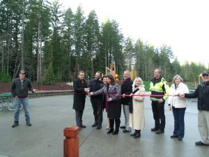 McCormick Village Park ribbon cutting