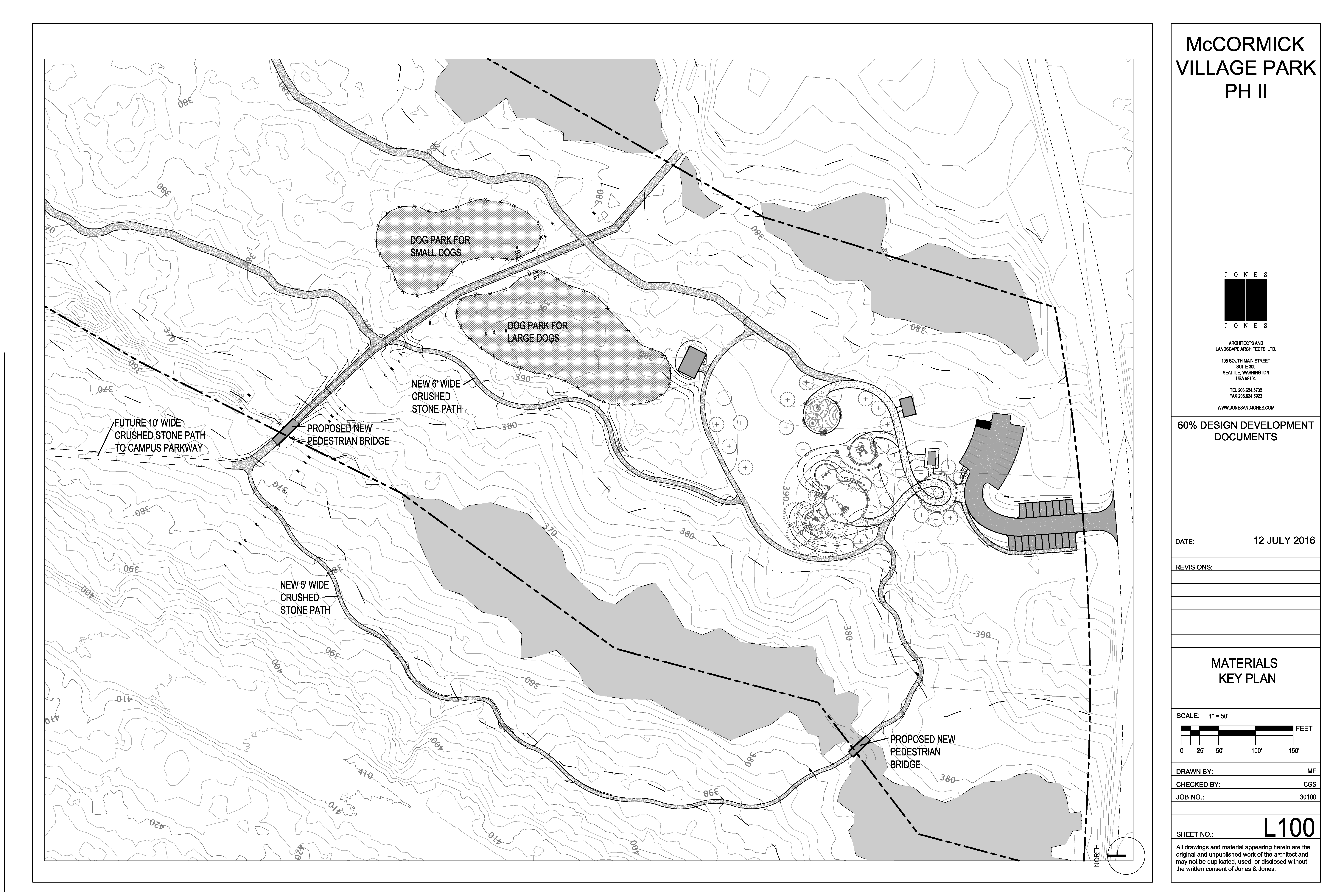 McCormick Woods Park Design Development