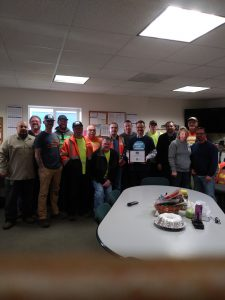 Public Works Employees of the Quarter