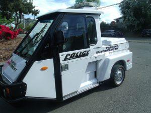 Parking Enforcement G0-4 vehicle