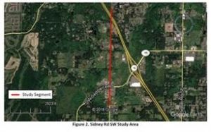 Sidney Rd speed limit changes