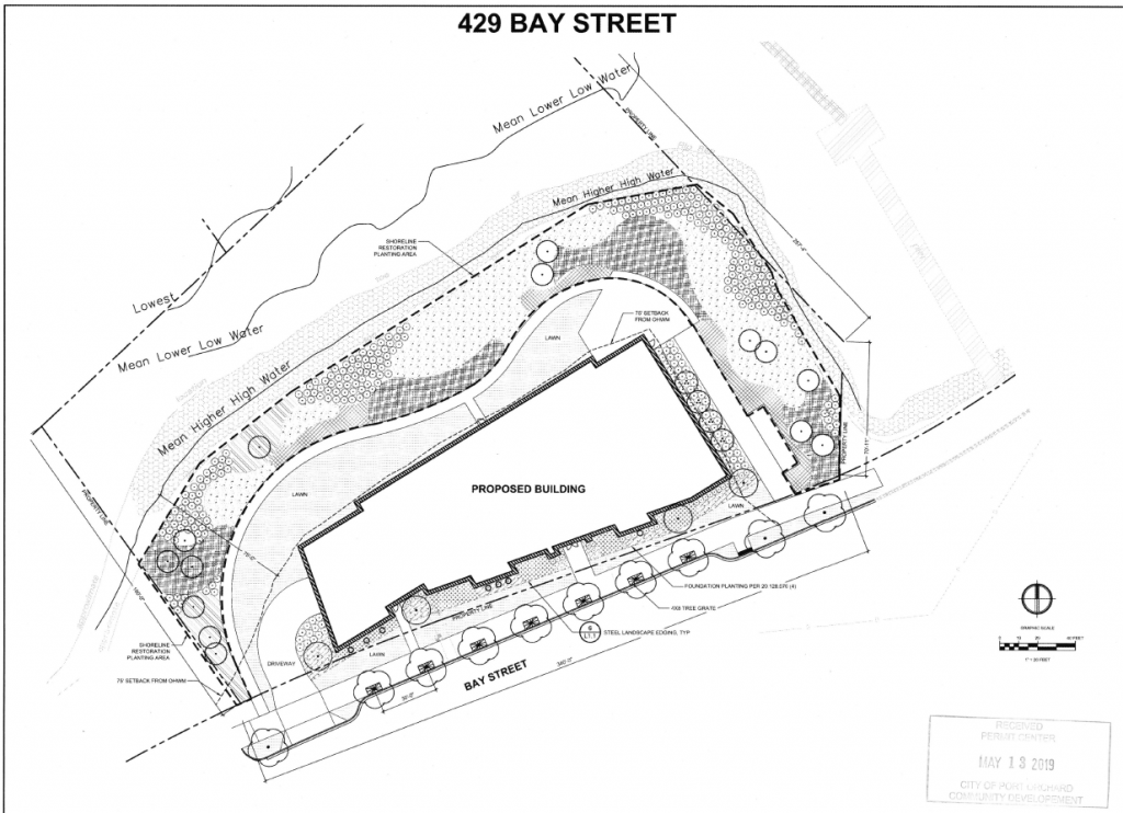 Notice of application bay street picture