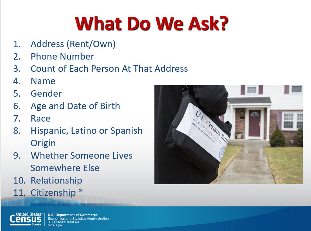What do we ask? Census