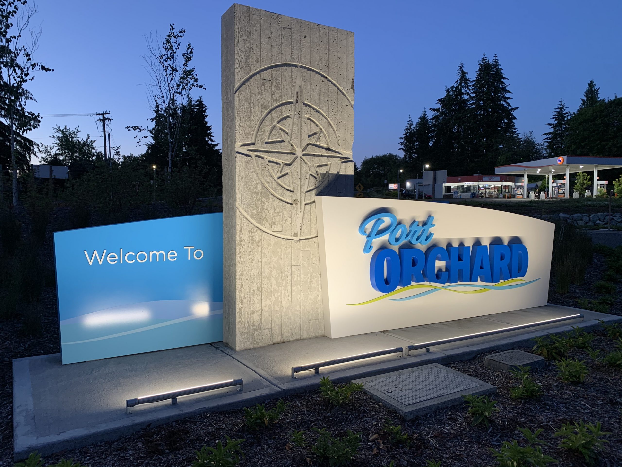 Welcome to Port Orchard sign