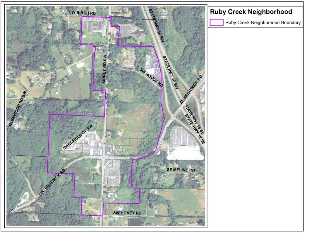 ruby creek boundary map