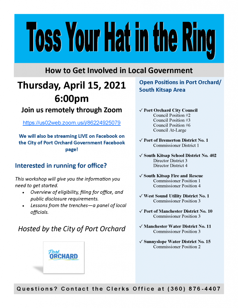 toss your hat in the ring flyer