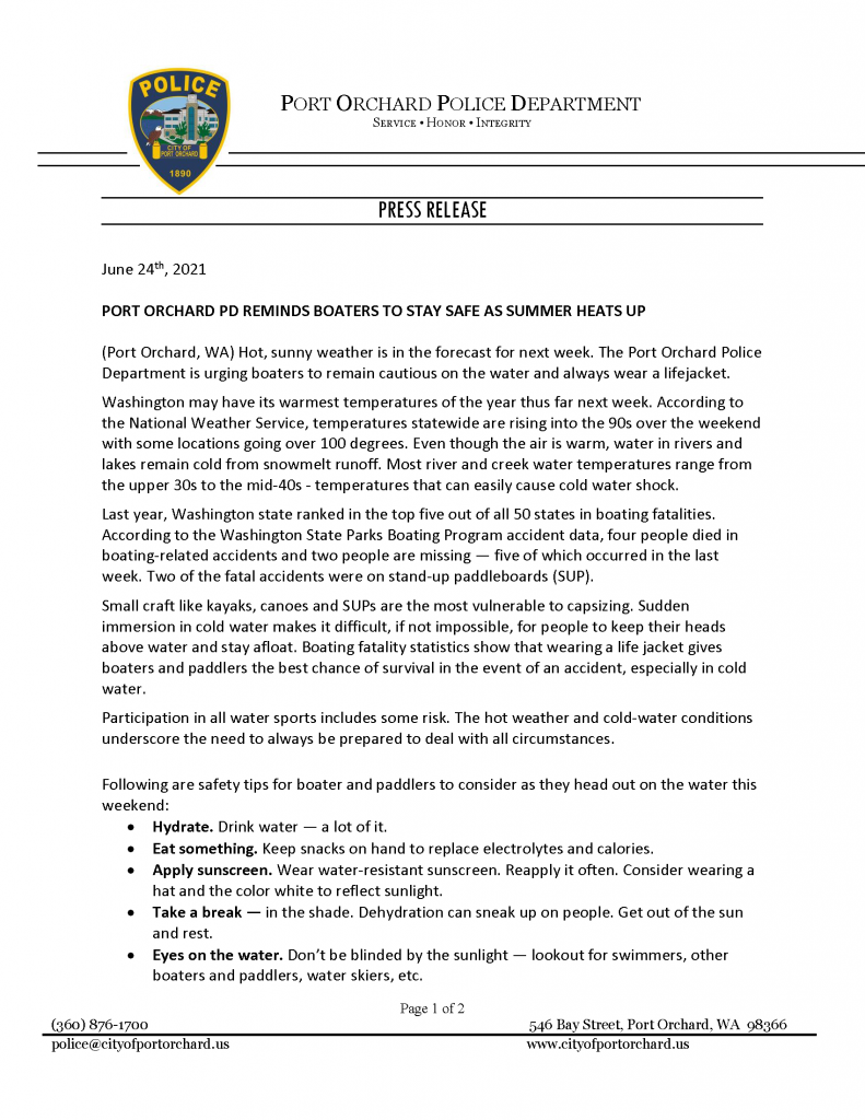 boaters stay safe page 1