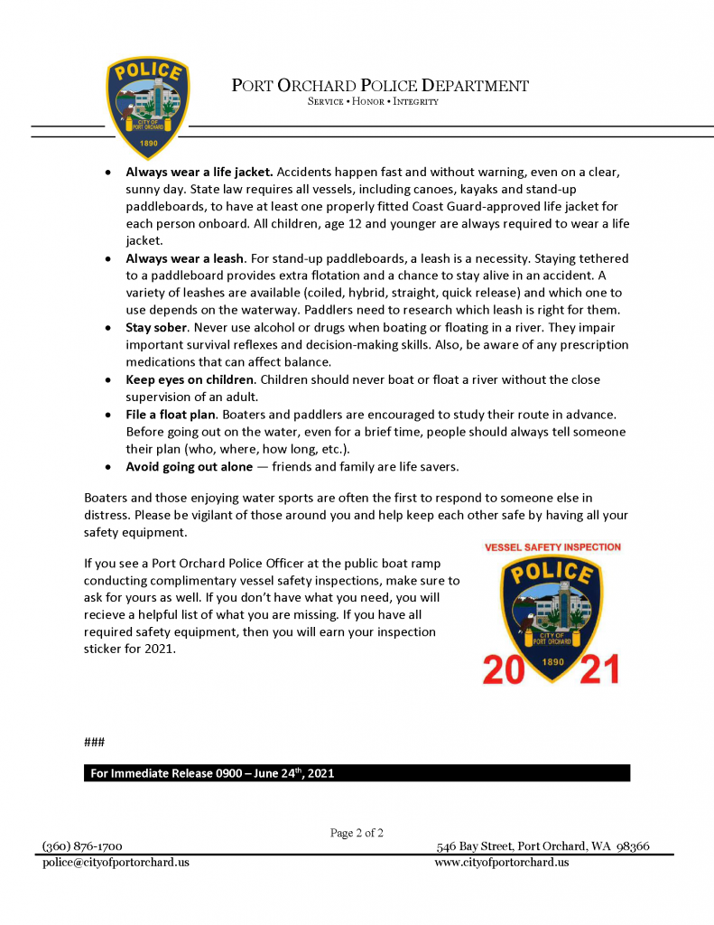 boaters stay safe page 2
