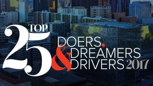 Top 25 Doers, Dreamers, and Drivers logo