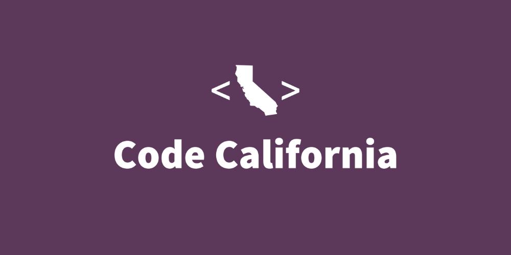 Code California logo