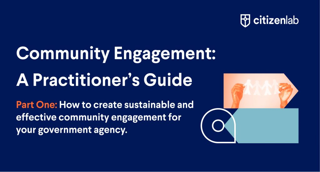 Community Engagement: A Practitioner's Guide (Part One)