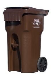brown cart