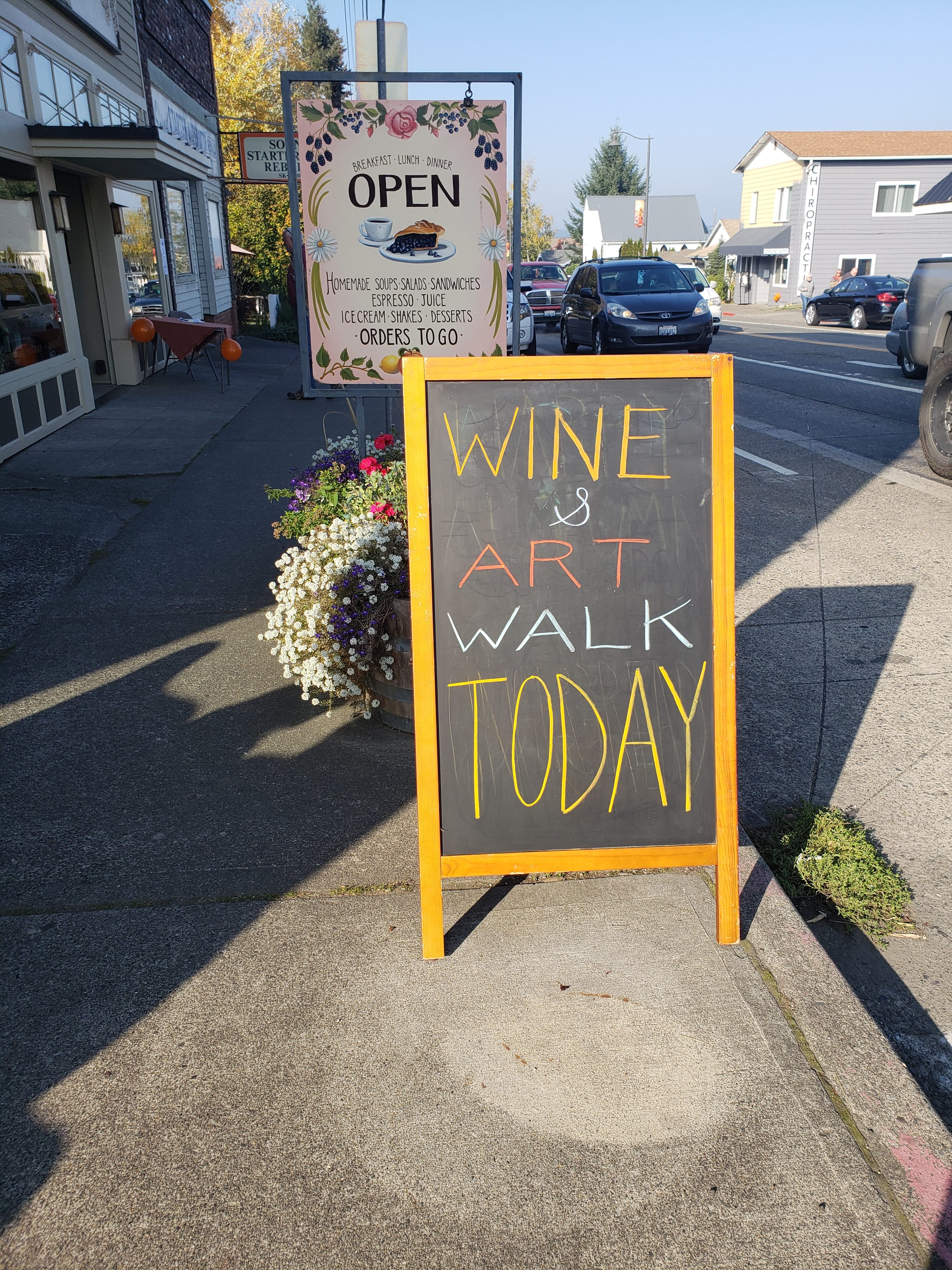 wine & art
