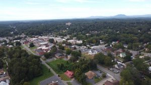 Rutherfordton Aerial