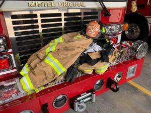 Junior firefighter gear
