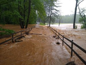 Flooding in Rutherfordton