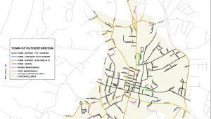 Town Street Map