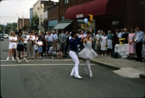 Dancing in Downtown Rutherfordton