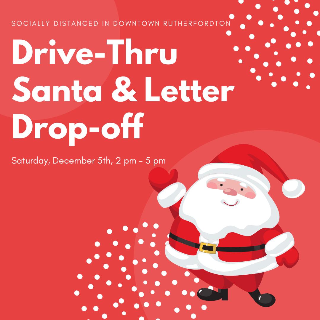 Drive thru Santa