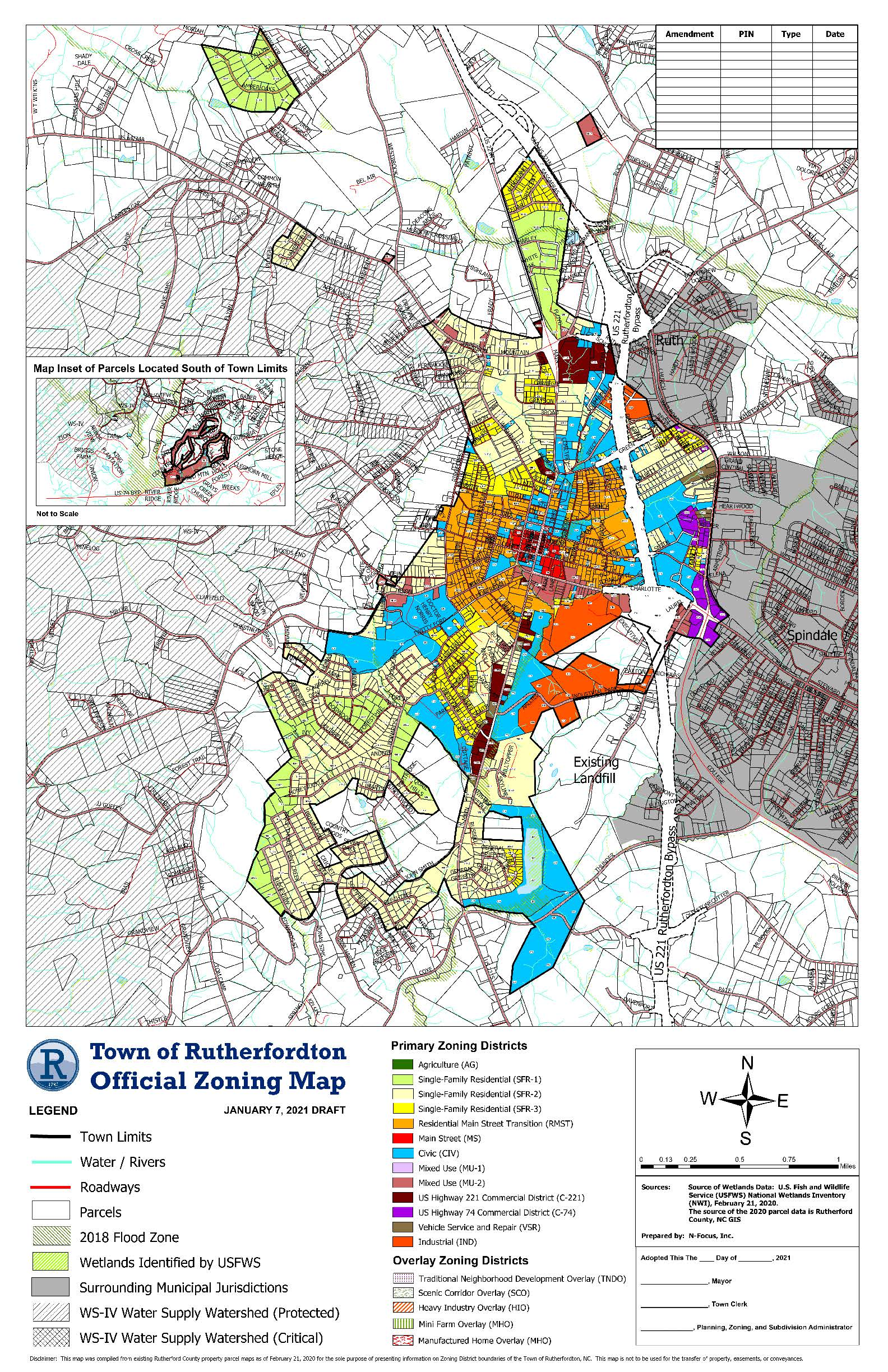 Draft Zoning Map