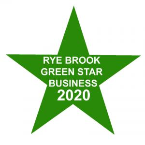 Green Star Business Decal