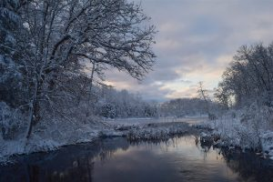 Landscape Snow Water