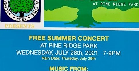 Music in the Park Flier